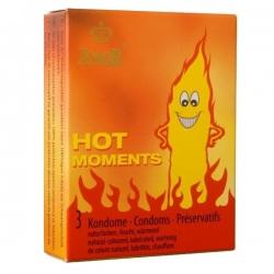 Preservativos Amor Efeito Calor ( 3 ou 12 uni.)