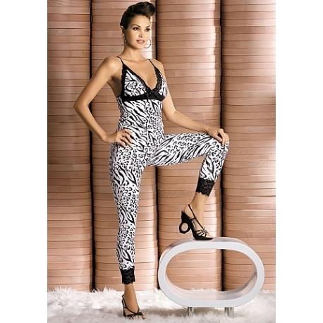 Zebra Top e Calças