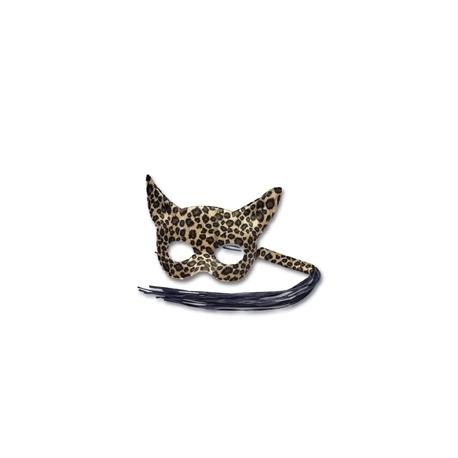 Mascara e Chicote Leopardo