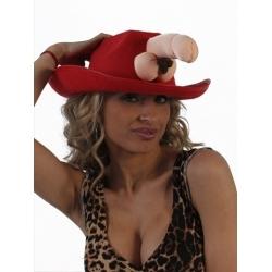 Chapéu Cowboy Pénis