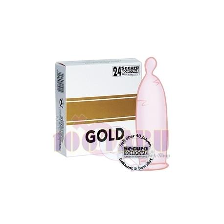 Preservativos GOLD Extra Lubrificados