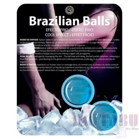 Bolinhas Explosivas Efeito Frio (Brazilian Balls) 2uni