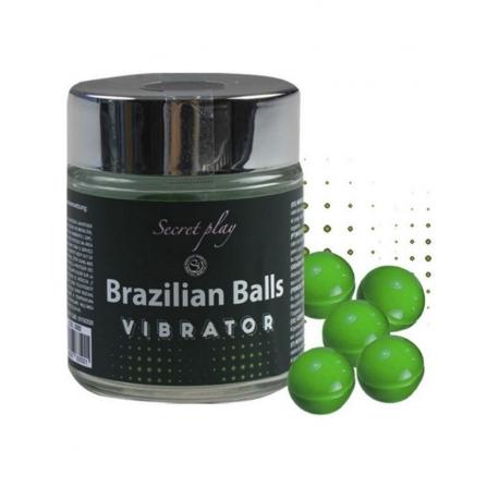 Bolinhas Explosivas Efeito Vibrante (Brazilian Balls Shock) 6uni