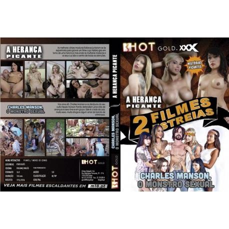 DVD Duplo - A Herança Picante + Charles Manson, O Monstro Sexual