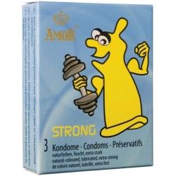 Preservativos Strong  Extra Grossos ( 3 uni )