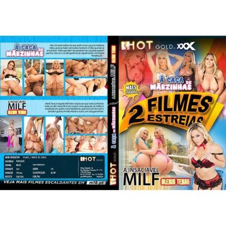 DVD Duplo - À Caça de Mãezinhas + A Insaciável Milf Alexis Texas