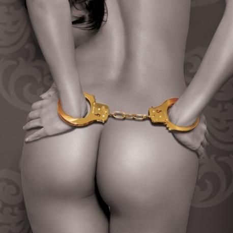 Algemas Metálicas Douradas