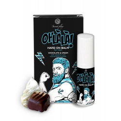 OH LA LA Estimulante Masculino Com Aroma Chocolate e Nata