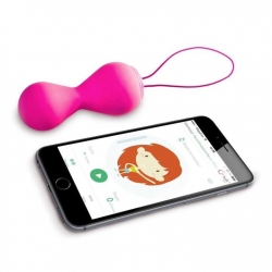Bolas Vaginais Recarregáveis G-Balls 2 App Magic Kegel Fun Toys
