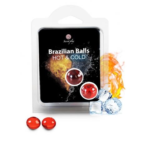 Bolinhas Explosivas Efeito 2 em 1 Quente e Frio (Brazilian Balls) 2uni