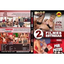 DVD Duplo - Avós Doidas À Solta + Vovós Submetidas por Putos
