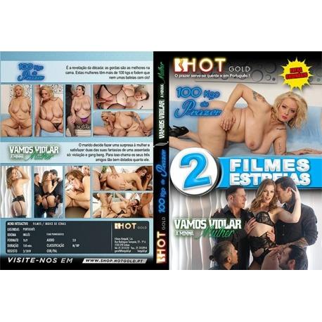 DVD Duplo - 100Kgs de Prazer + Vamos Violar a Minha Mulher