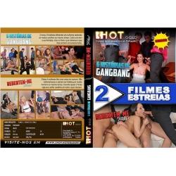 DVD Duplo - 6 Histórias de Gangbang + Rebentem-me Toda