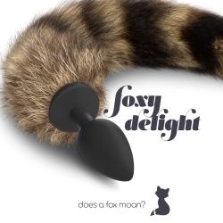 Plug Anal Silicone Cauda Foxy Delight
