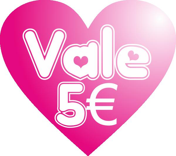 Vale 5 euros Sexshop